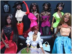 All Eyes On Me (FashionDragon) Tags: africanamerican jordanduval blackbarbie fashionroyalty nuface fashiondoll designerdoll jessyayala davidbuttery byronlars jasonwu stephenburrows bobmackie integritytoys blackdoll