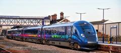 802301 @ Selby (A J transport) Tags: class802 diesel eletric bimode selby yorkshire england station railway trains platform iet firsthulltrains nikkon d5300 dlsr railways train new track rail