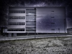 Galaxy House (Peter Schüler) Tags: peterpe1 flickr bochum luminar fake nacht sterne galaxy