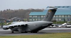 99-0168 (PrestwickAirportPhotography) Tags: egpk prestwick airport usaf united states air force boeing c17a globemaster alaska national guard 990168