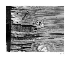 Detach (agianelo) Tags: weathered plywood phillips head screw shadow monochrome bw bn blackandwhite