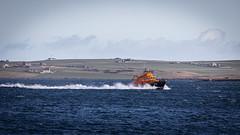 Saturday Run (MBDGE) Tags: rnli kirkwall rescue ship boat orkney sea blue bay saturday run exercise