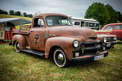 a wonderful CHEVROLET 3100 PickUp truck - the other side (Peters HDR hobby pictures) Tags: petershdrstudio hdr chevrolet uscar classictruck pickuptruck classiccar car lkw klassiker auto dreamcar rusty rostig