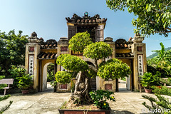 Chàm Islands (05) (Lцdо\/іс) Tags: chàm islands vie vietnam ile iles temple buddhisme buddha bouddha boudhisme viêtnam asia asian asie bonzai tree door old historic history voyage sun sunny day daytrip excursion hoian