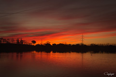 Amanece que no es poco... (cienfuegos84) Tags: sunrise amanecer lovethatsky