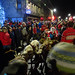 Christmas Eve procession with reindeer and Santa, 2019