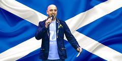 Flag Of Scotland (photosportsman) Tags: rugby scotland edinburgh ireland bash guillie dhu february 2020 tim visser bruceaitchison david denton international pub event scrum magazine genus craft lager
