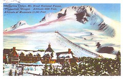 12 FlagGazer (Rocky's Postcards) Tags: timberline lodge mthood oregon snow resort ski theshining postcard flaggazer