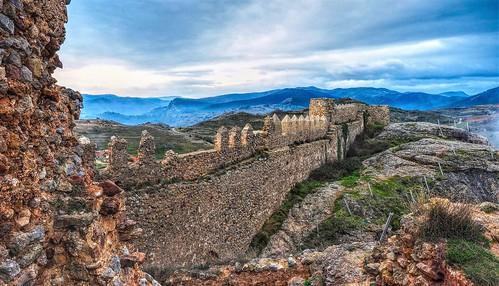 Ruinas del castillo de Clavijo.  La Rioja.