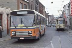NMCV-MNVB 5693-63 - SNCV-NMVB 9138-63 (Public Transport) Tags: tram trasportopubblico transportencommun tramway trams tramways bus buses bussen belgique busen bussi busz vanhool sncv nmvb