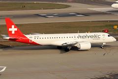 HB-AZA_01 (GH@BHD) Tags: hbaza embraer e190 e2 e190e2 2l helveticairways zurichairport zrh lszh zurich regionaljet aircraft aviation airliner kloten