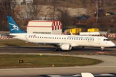 4O-AOA_01 (GH@BHD) Tags: 4oaoa embraer erj erj195 erj195200lr montenegroairlines zrh lszh zurichairport zurich kloten aircraft aviation airliner regionaljet