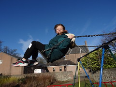 Photo of Swinging high