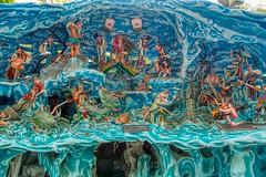 Diorama depicting a story from Chinese folklore at Haw Par villa in Singapore (UweBKK (α 77 on )) Tags: singapore southeast asia sony alpha 77 slt dslr city urban hawpar haw par villa scene sculpture art installation chinese folklore lore story tale diorama