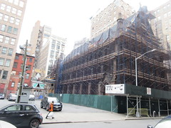 2020 Trinity Chapel Complex Church Ruin from Fire 5277 (Brechtbug) Tags: 2020 trinity chapel complex church ruin from fire 05032016 may 3rd 2016 located flatiron district 15 west 25th street between broadway avenue americas 6th 02082020 constructed 185055 was designed by architect richard upjohn english gothic revival style gutted ruins nyc urban new york city manhattan later named serbian orthodox cathedral st sava saint bust nikola tesla stands outside