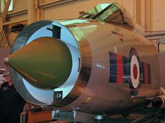 Glass Cockpit (crusader752) Tags: englishelectric bac lightning f6 xs899 2008 waddington airshow cockpit forwardfuselage