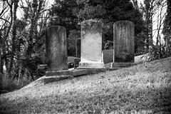 Harpers Ferry (West Virginia / US) (garyeales) Tags: catholic church shenandoah river potomac bw monochrome usa us wv west virginia jefferson county harpers ferry cemetery headstone headstones gravestone gravestones