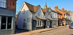 """The Butcher's Tap"" Public House (standhisround) Tags: publichouse pub thebutcherstap marlow building buckinghamshire england uk highstreet road signsunday signs sign shops gastropub restaurant bar"