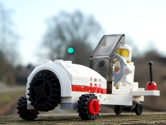 I believe I can fly - Febrovery 2020-09 (captain_j03) Tags: toy spielzeug 365toyproject lego minifigure minifig moc febrovery space rover car auto