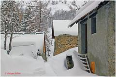Choseaux Verneys © chalets anciens (philippedaniele) Tags: savoie alpes france maurienne valloire hameaudeschoseauxverneys neige habitat location