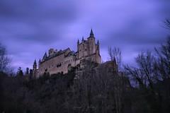 El Alcazar (David J. Julián) Tags: cities purple segovia davidjjulian sky alcazardesegovia nikon ciudades d750