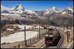 Bhe 4/6 3084_Gornegrat 3089 m above sea level_Matterhorn_Zermatt_MatSwitzerland (ferdahejl) Tags: bhe463084 gornegrat3089mabovesealevel matterhorn zermatt matswitzerland dslr canondslr