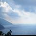 20170712_2 Hazy horizon & coast between Vernazza & Monterosso, Cinque Terre, Italy