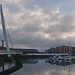 Wales - Swansea - Waterfront - Sail Bridge