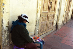 lonely (klauslang99) Tags: klauslang streetphotography person lonely abandoned cuenca