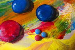 yummy painting (hussi48) Tags: yummy smarties sweets gemälde acrylaufleinwand originalundfälschung bunf farbig drei lecker nahaufnahme closeup smileonsaturday