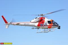 JA9636   Aerospatiale AS355F2 Ecureuil 2   Aero Asahi (james.ronayne) Tags: ja9636 aerospatiale ecureuil 2 aero asahi heli helicopter chopper rotors tokyo heliport rjti canon 5ds 100400mm raw as355f2