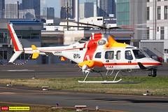 JA01AX   Bell 430   Aero Asahi (james.ronayne) Tags: ja01ax bell 430 aero asahi helicopter heli chopper tokyo heliport rjti canon 5ds 100400mm raw rotors