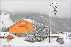 Choseaux Verneys © chalets récents (philippedaniele) Tags: savoie alpes france maurienne valloire hameaudeschoseauxverneys neige habitat location