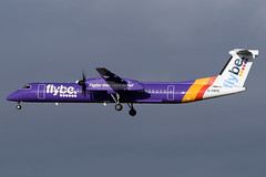 G-PRPE Flybe De Havilland Canada Dash 8-Q400 at Edinburgh Turnhouse Airport on 8 February 2020 (Zone 49 Photography) Tags: aircraft airliner aeroplane february 2020 edinburgh scotland egph edi turnhouse airport bebee flybe de havilland canada dehavillandcanada dhc dash 8dash8 q400 gprpe