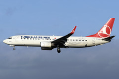 TC-JHY Turkish Airlines Boing 737-8F2(WL) at Edinburgh Turnhouse Airport on 8 February 2020 (Zone 49 Photography) Tags: aircraft airliner aeroplane february 2020 edinburgh scotland egph edi turnhouse airport tk thy turkish airlines turkishairlines boeing737 boeing 737 738 800 8f2 wl tcjhy