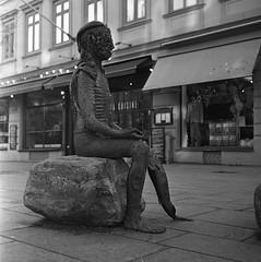 Oraklet (rotabaga) Tags: sverige sweden svartvitt göteborg gothenburg blackandwhite bw bwfp diy lomo lomography lubitel166 twinlens mellanformat mediumformat fomapan fomadon