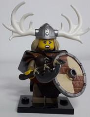 GUNHILDE (krisdecatte) Tags: lego medieval vikings custom minifigurines