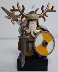 ODIN VIKING KING (krisdecatte) Tags: lego medieval vikings custom minifigurines