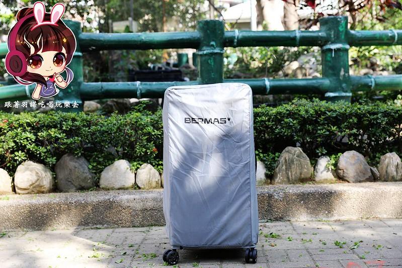 BERMAS行李箱戰艦箱開箱003