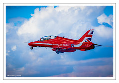 HS HAWK T1 (Chris (Thanks for 120,000 Views)) Tags: hshawkt royalairforce raf rafaerobaticdisplayteam rafadt redarrows thereds reds xx242 rafscampton festivalofflight fof2017 fof17 bigginhill kent england 2017 aviation aircraft aeroplane airshow aviationphotography canoneos7dmkii canon canonf46f56islusm100400mm canon100400mmf4556lisusmmkii planemotorsport2020