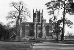 Victorian Tudor (Fray Bentos) Tags: margam margamabbey wales glamorgan mansion mamiyam645 ilforddelta400 adoxfx39ii expiredfilm