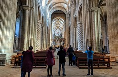 Photo of Durham Cathedral, Feb 2020
