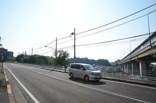 Koshu-kaido under Chuo Expressway in Hino 2
