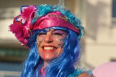 Carnaval _6284 (ichauvel) Tags: carnaval joie hapiness visage face sourire smile rire laughing exterieur outside multicolore saintraphael var paca provencealpescôtedazur corso fevrier february france europe westerneurope côtedazur portrait