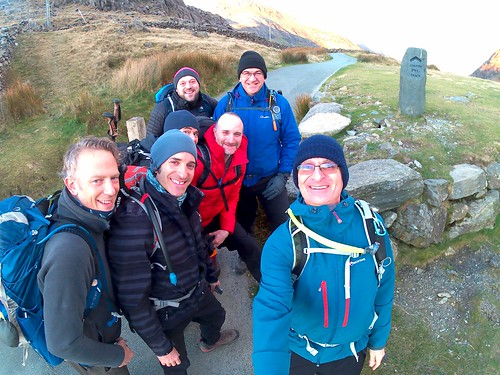 """The start of the Pyg Track, L-R, Richard, Joel, Richard (just), Matthew, Mark, Aron, Jeremy • <a style=""""font-size:0.8em;"""" href=""""http://www.flickr.com/photos/95373130@N08/49511396231/"""" target=""""_blank"""">View on Flickr</a>"""