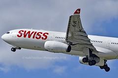 """Fribourg"" Swiss International Air Lines HB-JHE Airbus A330-343E cn/1084 @ LSZH / ZRH 16-08-2019 (Nabil Molinari Photography) Tags: fribourg swiss international air lines hbjhe airbus a330343e cn1084 lszh zrh 16082019"