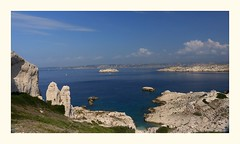 Îles du Frioul............Marseille (ylisa1318) Tags: marseille iles frioul bleu mer
