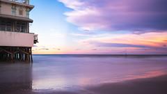 Colorful sunset in Daytona Beach (Erik_Graumans) Tags: amazing abendstimmung beautiful colorful colors scenery licht lucht luchten dusk daytonabeach evening fuji gorgeous glowing unitedstatesofamerica holiday light vibes kleuren sky wolken pink landscape landschap lovely new outside photo reflection reflectie reflections sunset sonnenuntergang spectacular golven waves water ocean xt20 relaxing zonsondergang beach