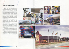 Photo of Extract from Petrofina UK brochure, late 1980s