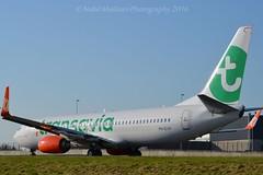 Transavia PH-GUX Boeing 737-8EH Winglets cn/39611-4319 lsd GOL Linhas Aereas 9 Apr 2016 rtd 27 Oct 2016 @ Taxiway Q EHAM / AMS 06-06-2016 (Nabil Molinari Photography) Tags: transavia phgux boeing 7378eh winglet cn396114319 lsd gol linhas aereas 9 apr 2016 rtd 27 oct taxiway q eham ams 06062016